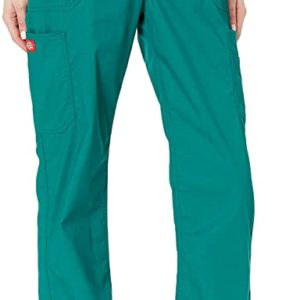 Dickies Women's Size EDS Signature Stretch Mid-Rise Moderate Flare Leg Pull-on Pant-Tall