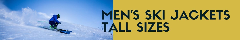 Men's ski jackets tall sizes