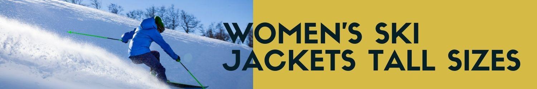 Women's ski jackets tall sizes