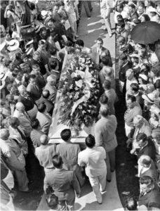The funeral of Robert Wadlow