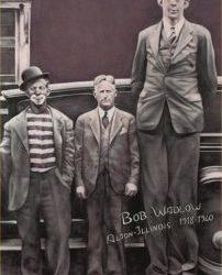 Robert Wadlow, the tallest giant ever