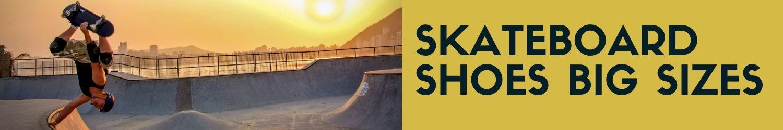 skateboard shoes big size