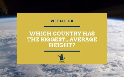 Which country has the biggest…average height?