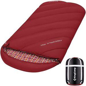 KingCamp Sleeping Bag XL 3-4 Seasons Extra Large 220x100cm Extreme -8℃