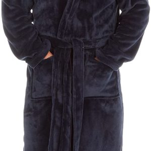 Mens Adult Plus Size Big and Tall Dressing Gown Bath Robe up to 5XL