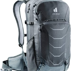 deuter Unisex– Adult's Attack 22 EL Bicycle Backpack with Protector extra long