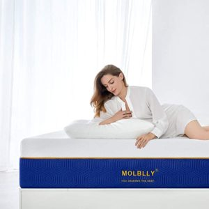Super King Mattress, Molblly 20cm Gel Memory Foam 180x200cm